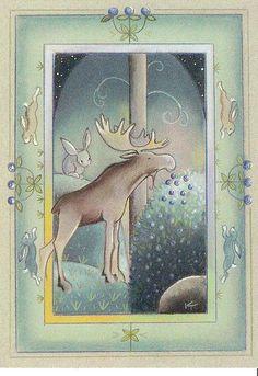 Moose by Kaarina Toivanen