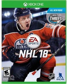 Electronic Arts NHL 18 - Xbox One $59.99 http://shopstyle.it/l/i1ce