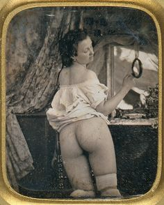 > Mirror on the wall  ca. 1850