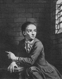 Jack Sheppard or known as John Sheppard March 1702 – 16 November was a notorious English robber, burglar and thief of early London. Daniel Defoe, Criminal Justice, Criminal Minds, Life And Death, Back In The Day, 18th Century, Photo Puzzle, Crime, Opera