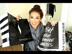 jaclyn hill- informative and hilarious!!!! ▶ Beauty Haul - Sephora & Lush - YouTube