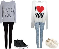 """Mixed Feelings"" by lauralovebear on Polyvore"