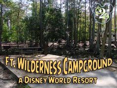 Did you know you can camp at Walt Disney World? Ft. Wilderness Campground has hook ups for RVs and allows tents too! It's a great way to save money and stay on site!