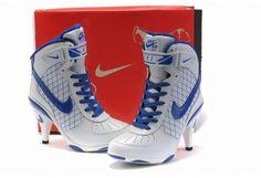 lowest price e11f7 2d94d Nike Air Force 1 Heels Womens White Blue Jordan Shoes, Nike Air Jordan Retro ,