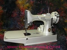 We restore & customize Singer 221 & 222 sewing machines. We also service Featherweight sewing machines. Featherweight Sewing Machine, Antique Sewing Machines, Painted Ladies, Wooden Spoons, Woman Painting, Custom Paint, Wood Working, Restore, Restoration