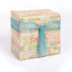 Even gifts for a man can look impeccably dressed! This parcel features Christmas Quotes rollwrap with Teal organza ribbon Christmas Quotes, Christmas 2015, Christmas Themes, Christmas Cards, Creative Gift Wrapping, Creative Gifts, Wrapping Ideas, Stationery Companies, Organza Ribbon