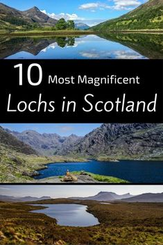 of the Best Lochs in Scotland = photos to inspire your next trip best lochs in Scotland – list Scottish lochs Pin Scotland Road Trip, Scotland Vacation, Scotland Travel, Ireland Travel, Italy Travel, Oh The Places You'll Go, Places To Travel, Travel Destinations, Holiday Destinations