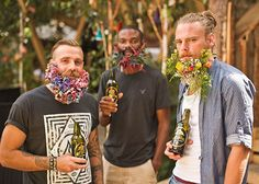 Floral Beards at Kopparberg Urban Festival