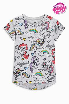 603acd3ae158 Buy Grey My Little Pony Short Sleeve T-Shirt (3-16yrs) from the Next UK  online shop