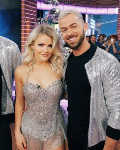 Whitney Carson & Artem Chigvintsev Surf Tattoo, Witney Carson, Star Hair, Strictly Come Dancing, Dance Fashion, Celebs, Celebrities, Dance Costumes, Celebrity