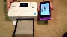 How to Print Different Sizes with the Canon Selphy Printer
