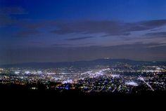 若草山山頂からの夜景
