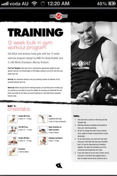 Arnold schwarzenegger blueprint workout day 5 gym workouts arnold schwarzenegger blueprint workout day 5 gym workouts pinterest arnold schwarzenegger workout and gym malvernweather Images