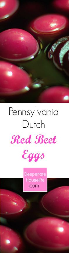 Pennsylvania Dutch Red Beet Eggs Recipe Final