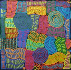 Aboriginal Indigenous - Betty Mbitjana