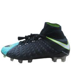 a84086159218 Nike Hypervenom Phantom 3 DF FG Womens Size 8.5 Soccer Cleats Aqua 881545  400 #Nike