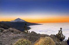 El Teide y su mar de nubes