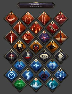 Image result for archetypes icon rpg