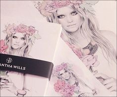 We heart Samantha Wills stationary collection.
