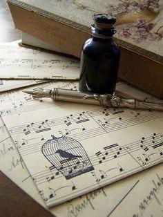 Handmade envelopes by MatildasDesign, Dette var fantastisk stilig..  lenge siden jeg har tegnet noter, kanskje på tide...