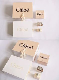 chloe boxes organised neatly - & Other Things Paper Packaging, Bag Packaging, Jewelry Packaging, Jewelry Branding, Packaging Design, Branding Design, Retail Packaging, Fashion Packaging, Luxury Packaging
