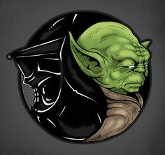 The definition of Yin and Yang describe these two opposite foes perfectly. This powerful illustration by Jake Geiger only makes sense. Balan...