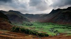 Great Langdale in the Lake District