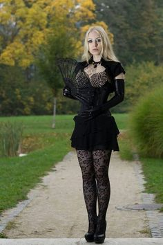 Gothic Fashion I von JessieDLuna - Damen Mode Hot Goth Girls, Gothic Girls, Goth Beauty, Dark Beauty, Gothic Dress, Gothic Outfits, Dark Fashion, Gothic Fashion, Style Fashion