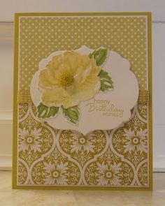 Stampin' Up! Birthday  by Sandy Dixon at stamping sanity: Stippled Blossoms