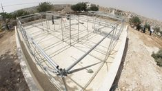 Gallery - These Schools for Refugee Children in Jordan are Built Using Scaffolding and Sand - 21