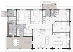 Mid Century Modern Furniture, House Floor Plans, My Dream Home, Future House, Interior Architecture, Mid-century Modern, Sweet Home, Flooring, How To Plan