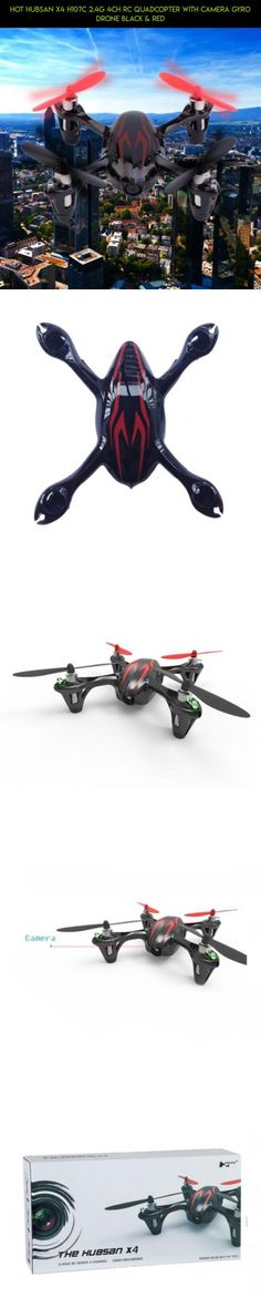 Hot Hubsan X4 H107C 2.4G 4CH RC Quadcopter with Camera Gyro Drone Black & Red #drone #products #gadgets #technology #kit #camera #camera #parts #shopping #drone #plans #hubsan #with #fpv #tech #racing