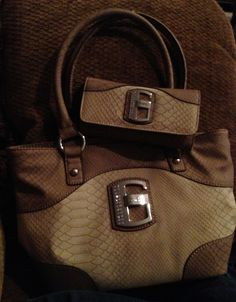 My new Guess purse & wallet ! Bromley - stone