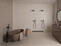 Small Apartment Interior, Home Interior Design, Dream Bathrooms, Beautiful Bathrooms, Minimalist Interior, Minimalist Home, Casa Milano, Hotel Room Design, Bathroom Design Luxury