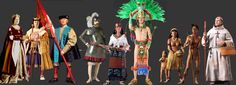 Indigenous Cultures were Eradicated by the Fevered European Desire for Vast Wealth. Visit Our Site For More Information: http://www.galleryhistoricalfigures.com/primarygroup.php?GroupName=Historical%20Figures%20of%20the%20Movement%20West