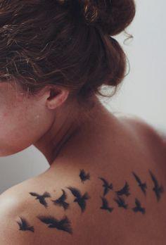 Une jolie idée tatouage pour illustrer la liberté