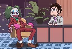 See more 'Steven Universe' images on Know Your Meme! Steven Universe Crossover, Pearl Steven Universe, Steven Universe Funny, Universe Images, Universe Art, Desenhos Cartoon Network, Steven Univese, Fanart, Joker Art