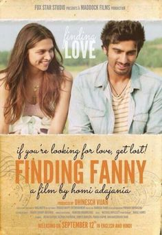 Finding Fanny - Review D for Drama, D for Dimple Kapadia and D for Deepika Padukone.. Finding Fanny is truly special and Different.   Must Watch for all those who love to watch a different film.