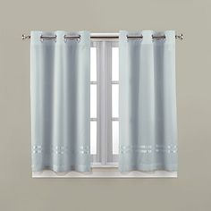 Superb Hookless® Escape 45 Inch Bath Window Curtain Panels