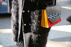 Street looks at Milan Fashion Week Fall/Winter 2014-2015: Day 5