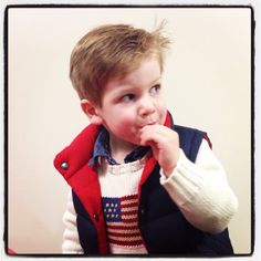 Toddler style Layers of Ralph Lauren  Handsome boy