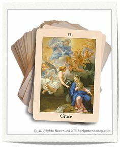 Angels of Grace from Angel Love Cards of Divine Devotion, Faith and Grace by Kimberly Marooney