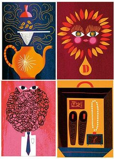 by Sanna Mander       beautiful illustrations