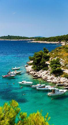 Adriatic Town of Split colorful waterfront, Dalmatia, Croatia | 15 Photos That Will Make You Fall in Love with Croatia