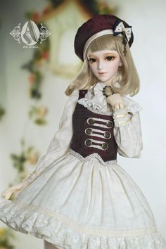 1/3 bjd ancient girl navy suit from AS~  Model: Butterfly