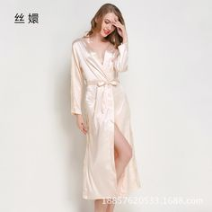 6beddad90c Pajamas women  s imitation silk robe pajamas lace sexy pajamas bathrobe  home service. Yesterday s
