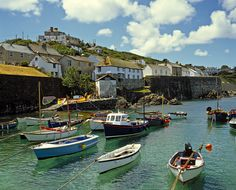 Coverack Harbour, Cornwall, UK