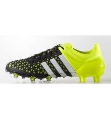 Adidas Ace 15.1 FG AG Sinteticas Negra-Amarilla Botas De Fútbol Adidas e6d8bfda84b87