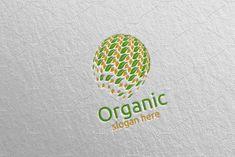 Global Natural and Organic Logo design template 25 Logo Design Template, Logo Templates, Organic Logo, Sewing Tutorials, Video Tutorials, School Design, Design Bundles, Free Design, Design Elements