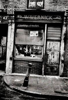John Claridge's East End Shops London Pictures, London Photos, Vintage London, Old London, London Photography, City Photography, Vintage Photographs, Vintage Photos, Old Photos